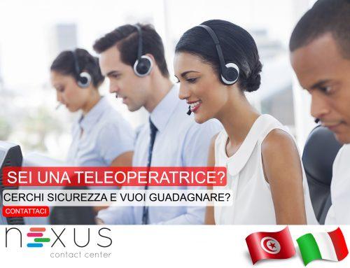 Nexus Seleziona 20 Operatori-Operatrici di TeleMarketing